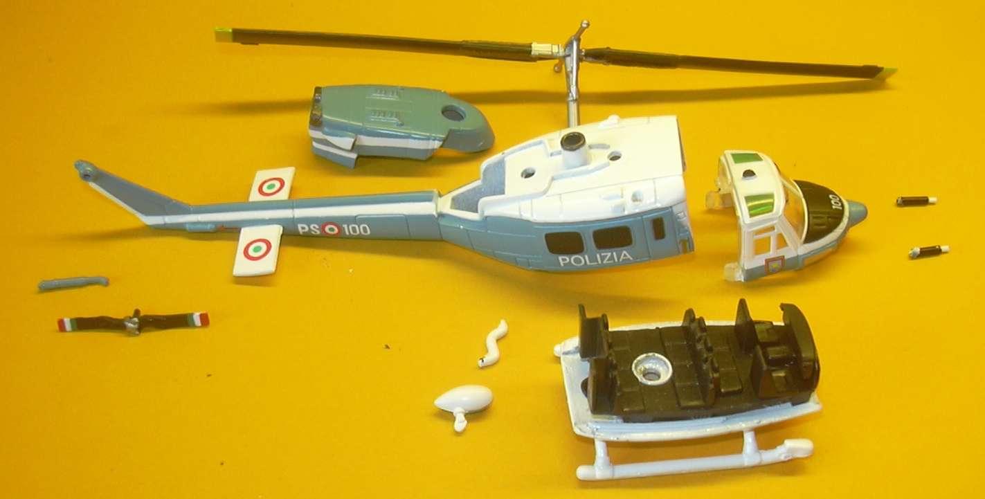 Elicottero 212 : Operazione sicurezza al mercato arriva anche l elicottero